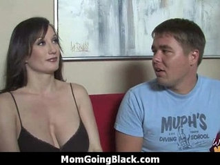 Monster black cock bangs my moms white pussy 30